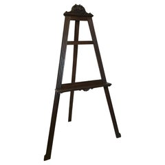 Early 20th Century French Walnut Easel, 1900s