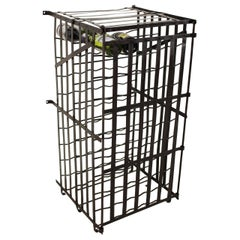 Early 20th Century French Wine Cage, 100 Bottle Capacity