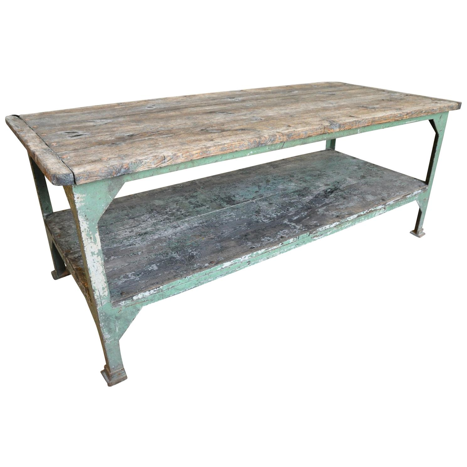 Early 20th Century French Work Table, Draper's Table