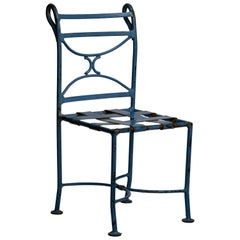 Early 20th Century French Wrought Iron Kids Chair