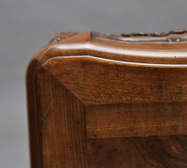 Early 20th Century Fruitwood Commode For Sale 5