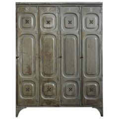 Early 20th Century German Factory Lockers