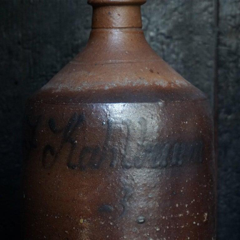 Early 20th Century German Stein Beer Jugs, Guglhupf and Römertopf For Sale 5