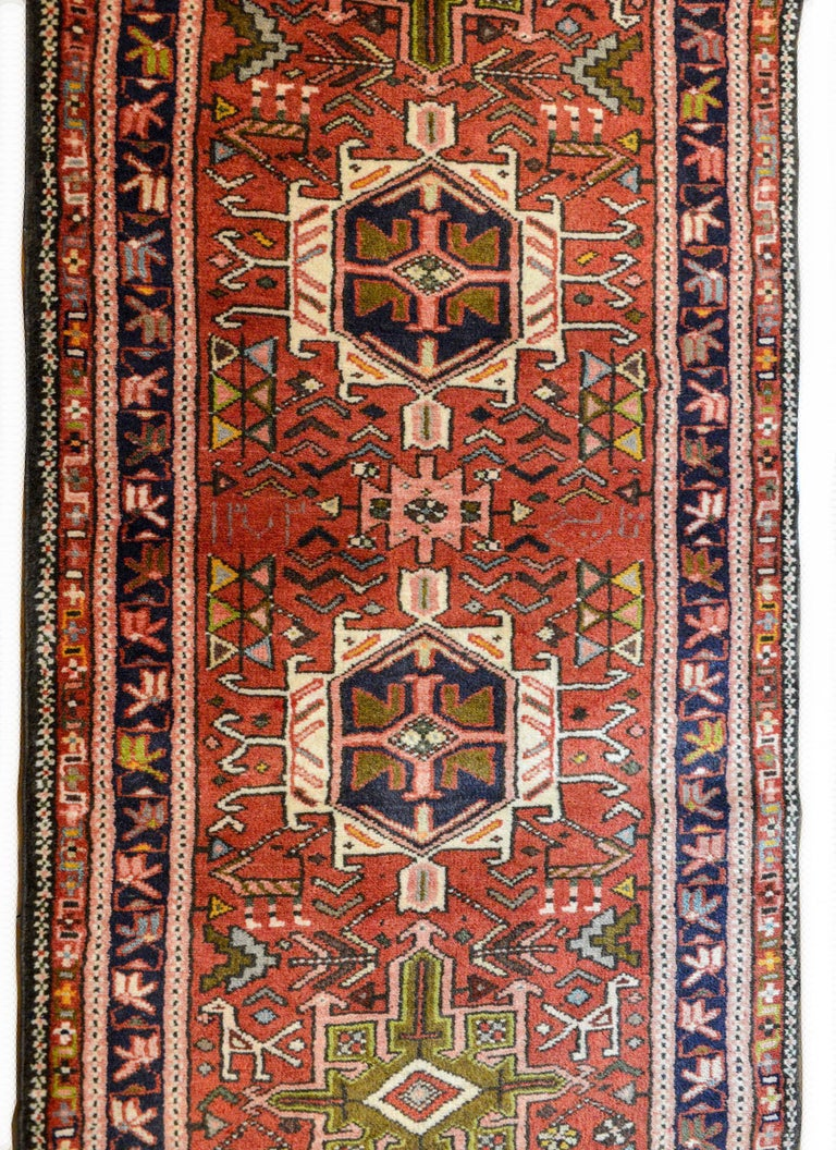 Early 20th Century Karadja Runner In Good Condition For Sale In Chicago, IL