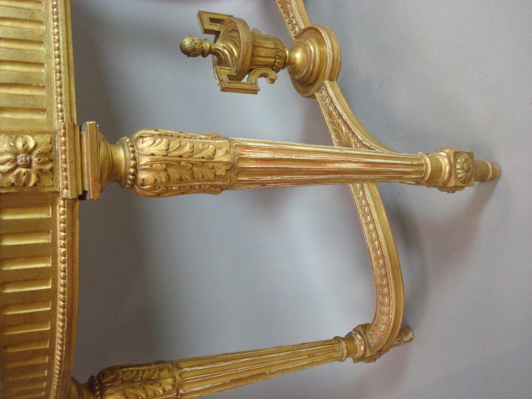 Early 20th Century Giltwood Console Table by Charles Bernel 11