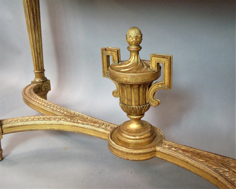 Early 20th Century Giltwood Console Table by Charles Bernel 13