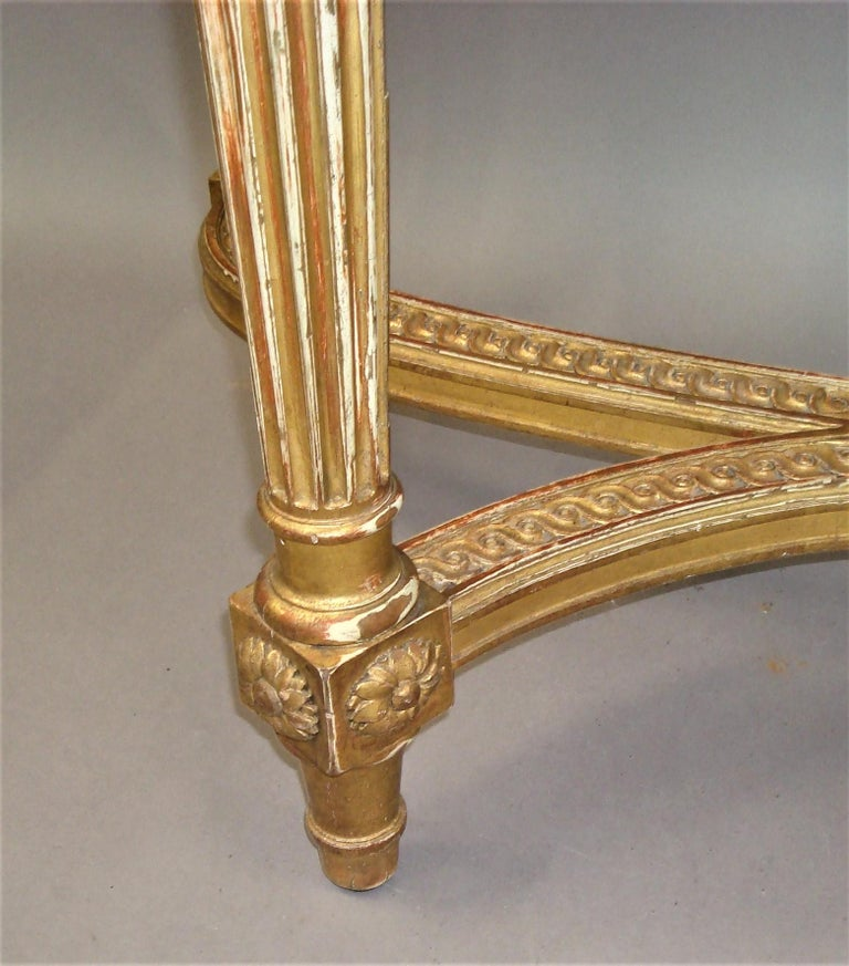 Early 20th Century Giltwood Console Table by Charles Bernel 8