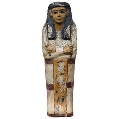 Early 20th Century Grand Tour Tourist Souvenir Sarcophagus Egyptian Mummy