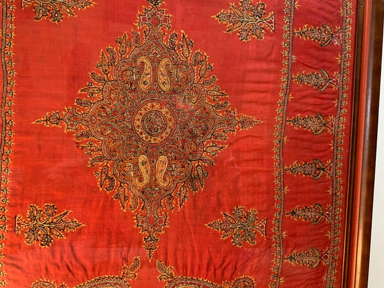Early 20th Century Hand Embroidery Suzani Wall Hanging For Sale 6