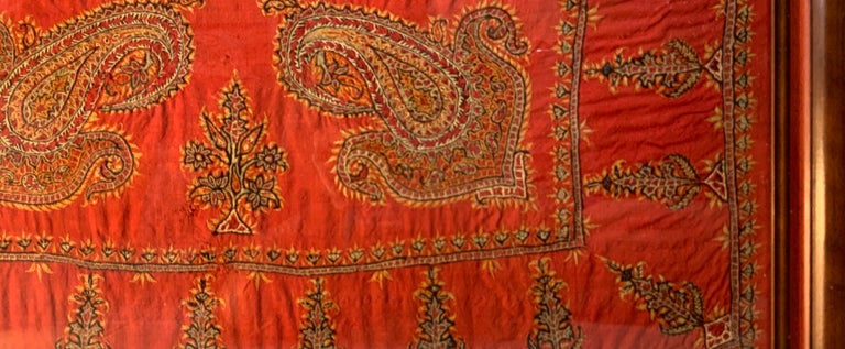 Early 20th Century Hand Embroidery Suzani Wall Hanging For Sale 7