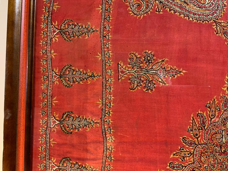 Early 20th Century Hand Embroidery Suzani Wall Hanging For Sale 9