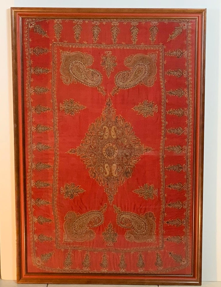 Persian Early 20th Century Hand Embroidery Suzani Wall Hanging For Sale
