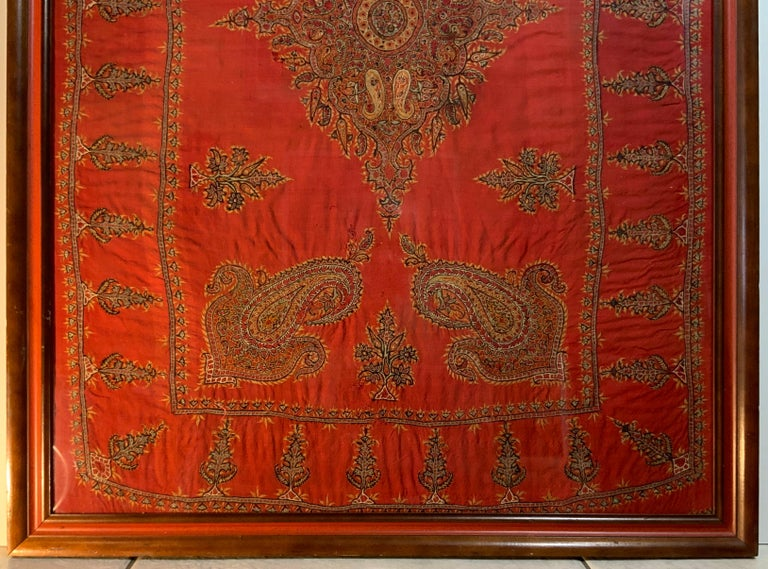 Early 20th Century Hand Embroidery Suzani Wall Hanging For Sale 1