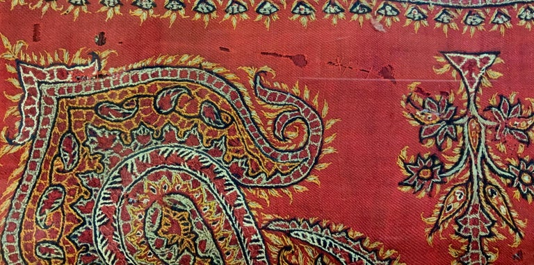 Early 20th Century Hand Embroidery Suzani Wall Hanging For Sale 3