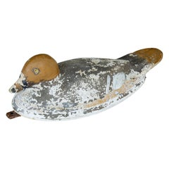 Early 20th Century Hand Painted Decoy Duck