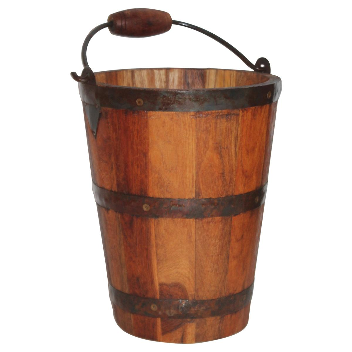 Early 20th Century Handcrafted Bucket from New England