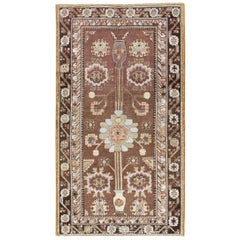 Early 20th Century Handmade East Turkestan Khotan Gallery Accent Rug