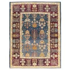 Early 20th Century Handmade Indian Amritsar Room Size Carpet