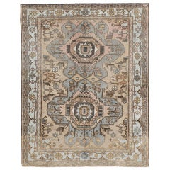 Early 20th Century Handmade Northwest Persian Accent Rug