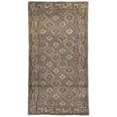 Early 20th Century Handmade Persian Baluch Tribal Rug