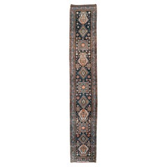 Early 20th Century Handmade Persian Heriz Long Runner