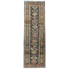 Early 20th Century Handmade Persian Kurd Runner