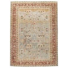 Early 20th Century Handmade Persian Mahal Room Size Carpet