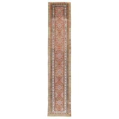 Early 20th Century Handmade Persian Serab Runner