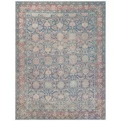 Early 20th Century Handwoven Wool Kirman Rug