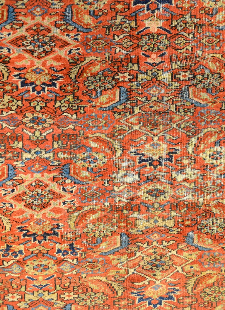 Persian Early 20th Century Heriz Rug For Sale