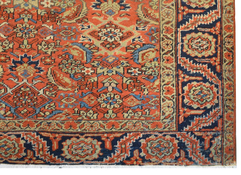 Mid-20th Century Early 20th Century Heriz Rug For Sale