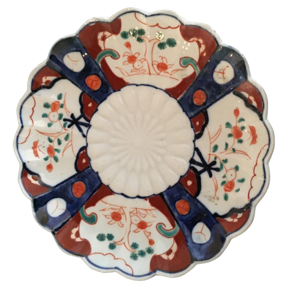 Early 20th Century Imari Japanese Plate
