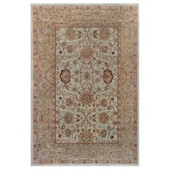 Early 20th Century Indian Amritsar Rug 'Size Adjusted'