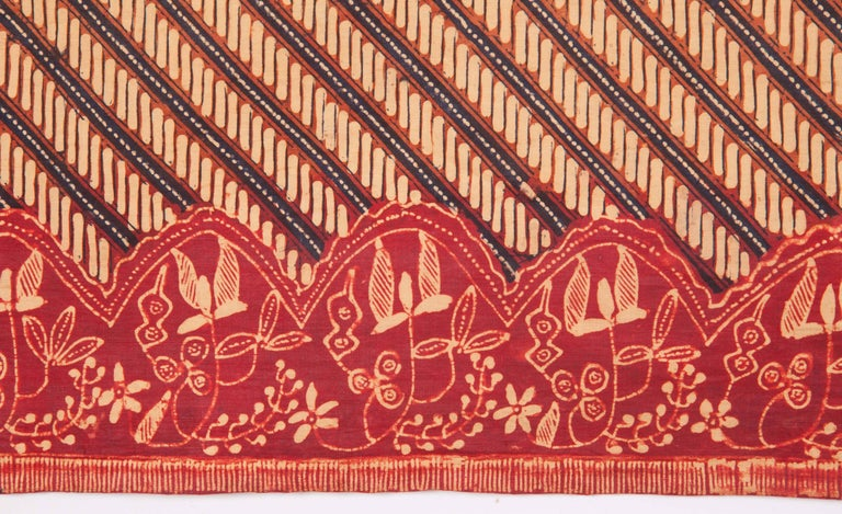 Cotton Early 20th Century Indonesian Batik For Sale