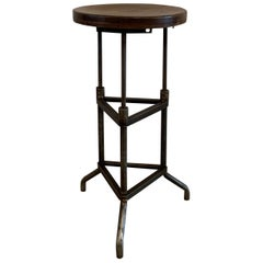 Early 20th Century Industrial Drafting Stool