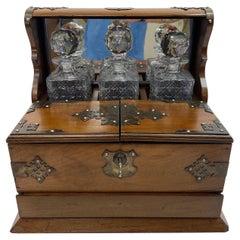 Early 20th Century Irish Tantalus Set