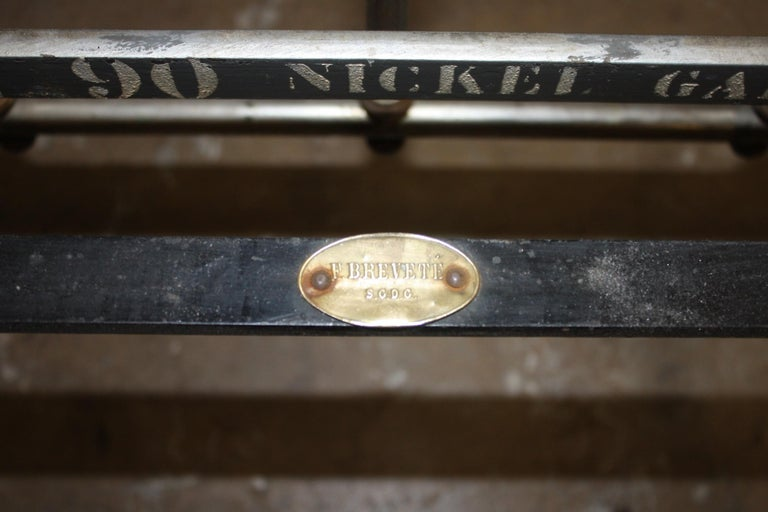 Early 20th Century Iron Bed For Sale 4