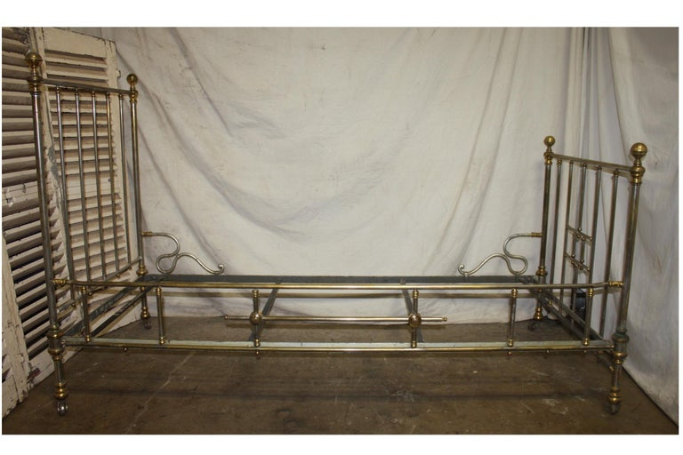 Early 20th Century Iron Bed For Sale 5