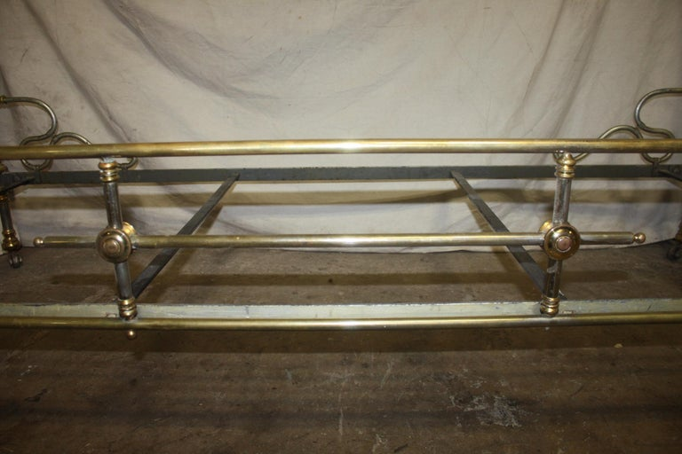 Early 20th Century Iron Bed For Sale 8
