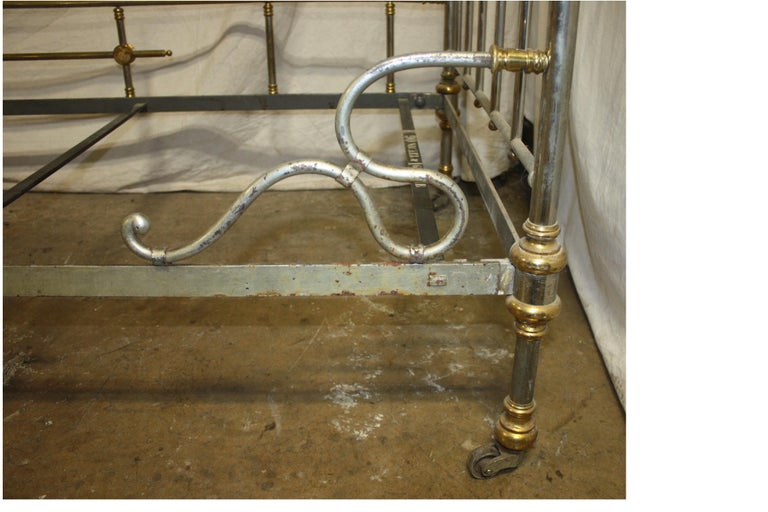 Early 20th Century Iron Bed For Sale 3