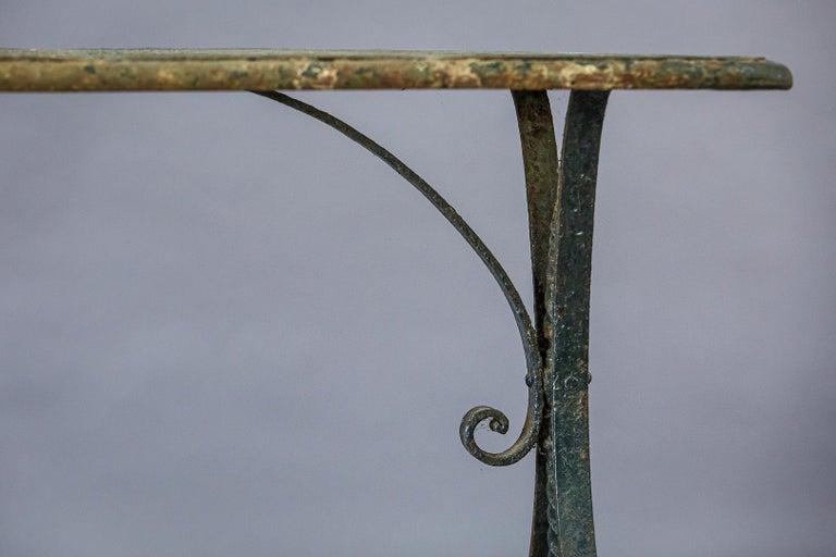 Early 20th Century Iron Garden Table 4
