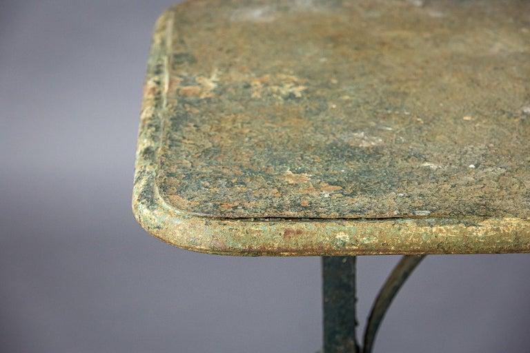 Early 20th Century Iron Garden Table 5