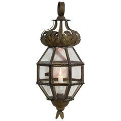 Early 20th Century Italian Brass Lantern
