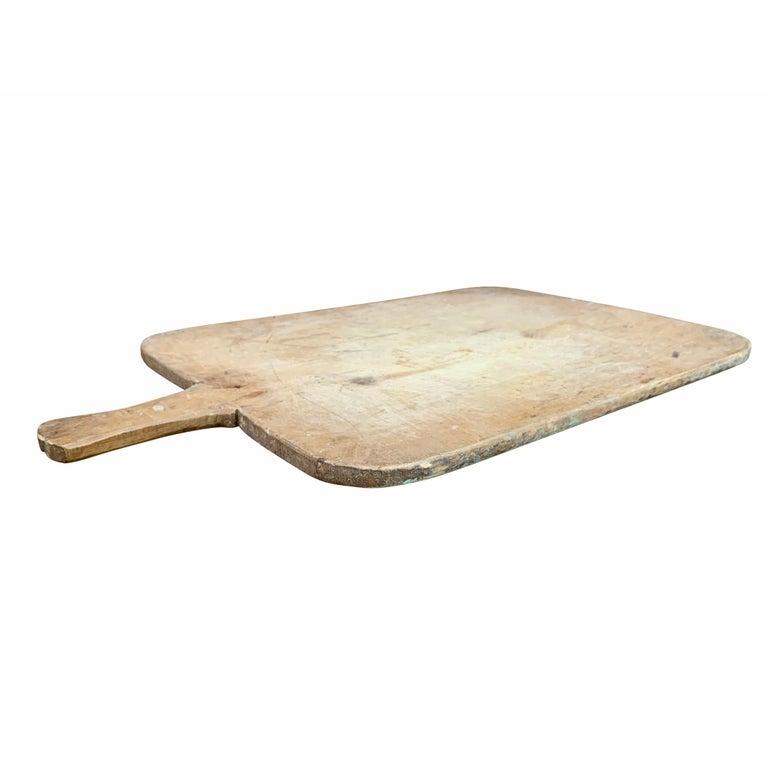 Pine Early 20th Century Italian Breadboard For Sale