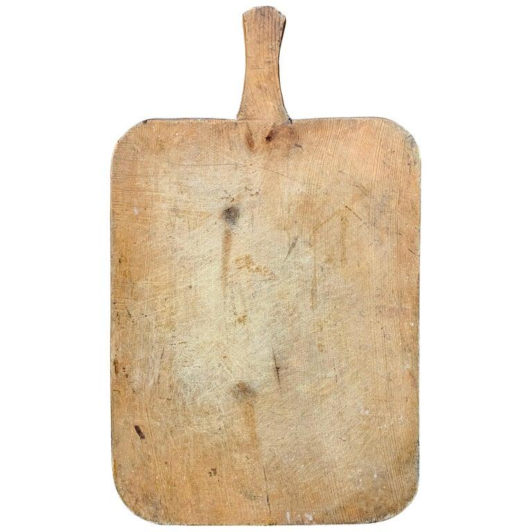 Early 20th Century Italian Breadboard For Sale