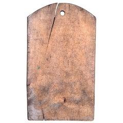 Early 20th Century Italian Cutting Board