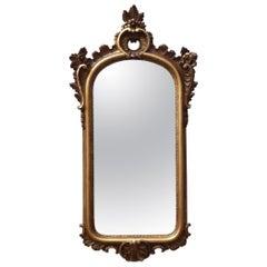 Early 20th Century Italian Giltwood Wall Mirror