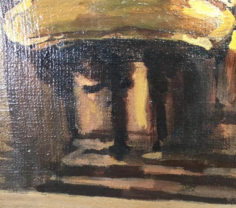 Early 20th Century Italian Milan Duomo Cathedral Interior by Achille Cattaneo For Sale 9