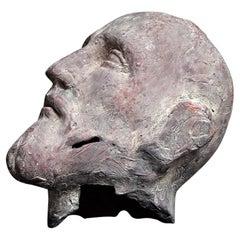Early 20th Century Italian Terracotta Santos Head