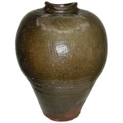Early 20th Century Japanese Clay Vessel